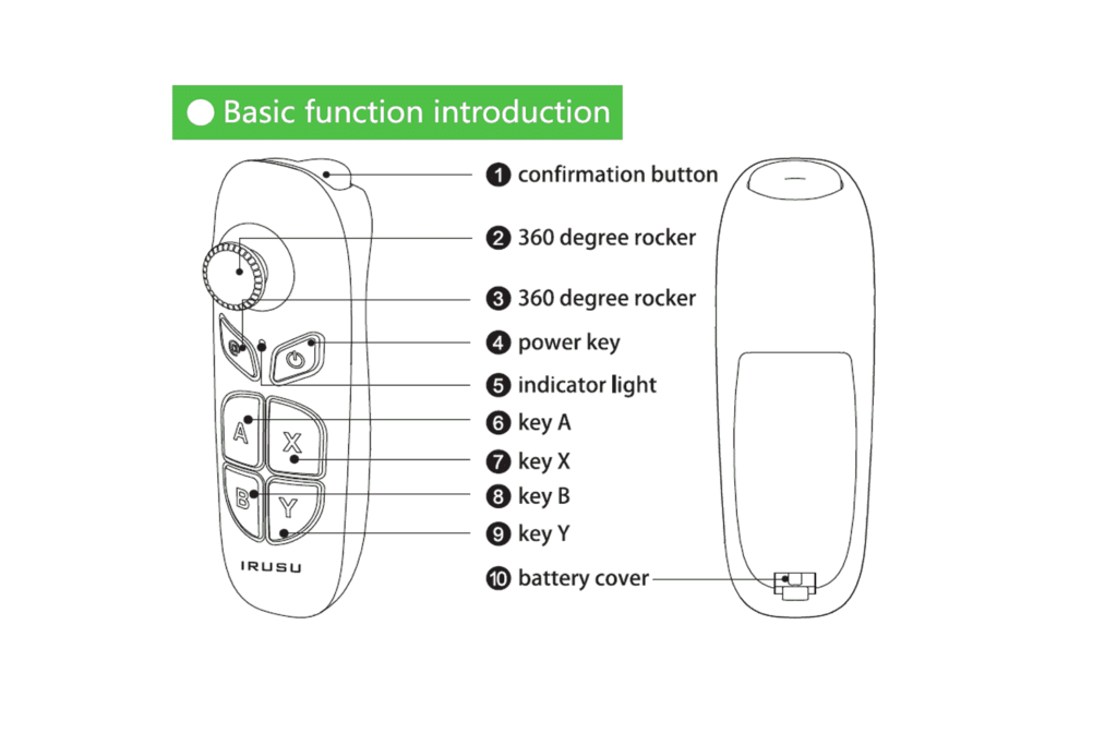 Irusu Bluetooth Remote