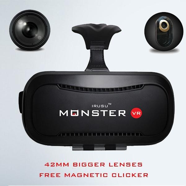 Irusu monster vr headset,vr headset india