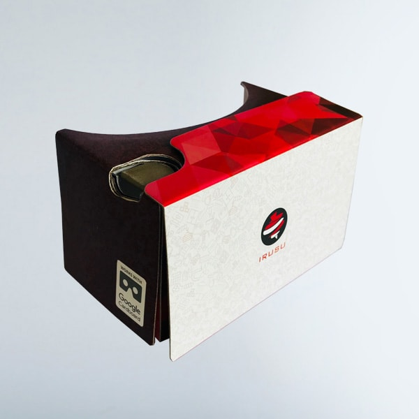 irusu google cardboard ,google cardboard box, 3d google cardboard box